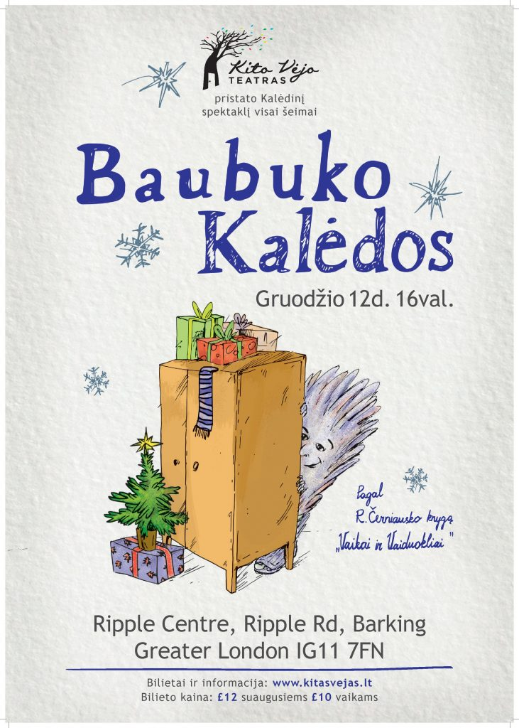 Baubuko Kaledos gruodžio 12d
