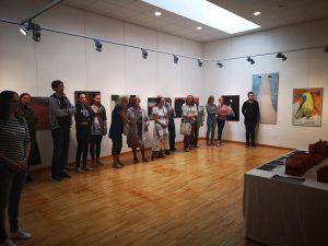 instaliacijos pristatymas Utenos kultūros centre