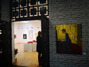 instaliacijos pristatymas miesto šventėje Utenoje